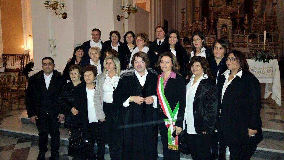 La parrocchia di San Marciano in pellegrinaggio.