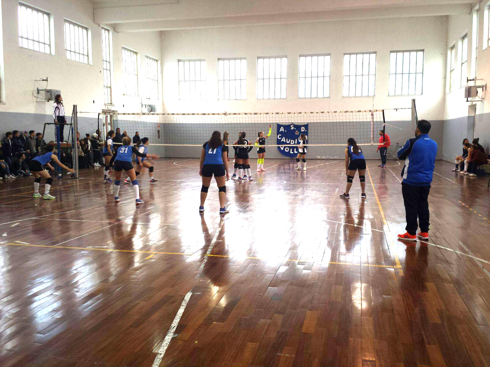 Volley a Montesarchio: Derby under 18 femminile ad alta tensione