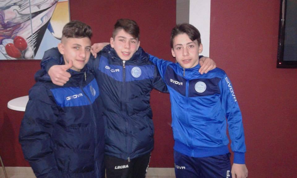 Valle Caudina. Le 3 giovani promesse della Montesarchio Soccer School e il test con la Juventus.