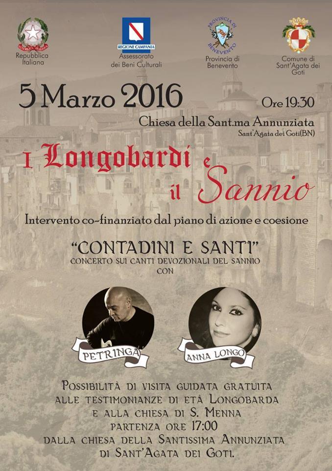 """I Longobardi ed il Sannio"" fa tappa a S. Agata de' Goti."