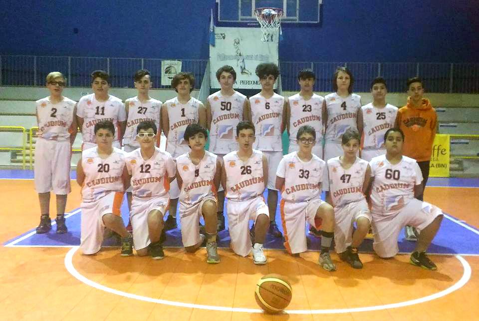 Ancora striscia positiva per l'Under 14 Caudium Basket