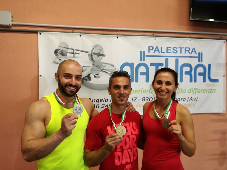 Sport | Nuove medaglie alla Natural dalla Federpesistica.