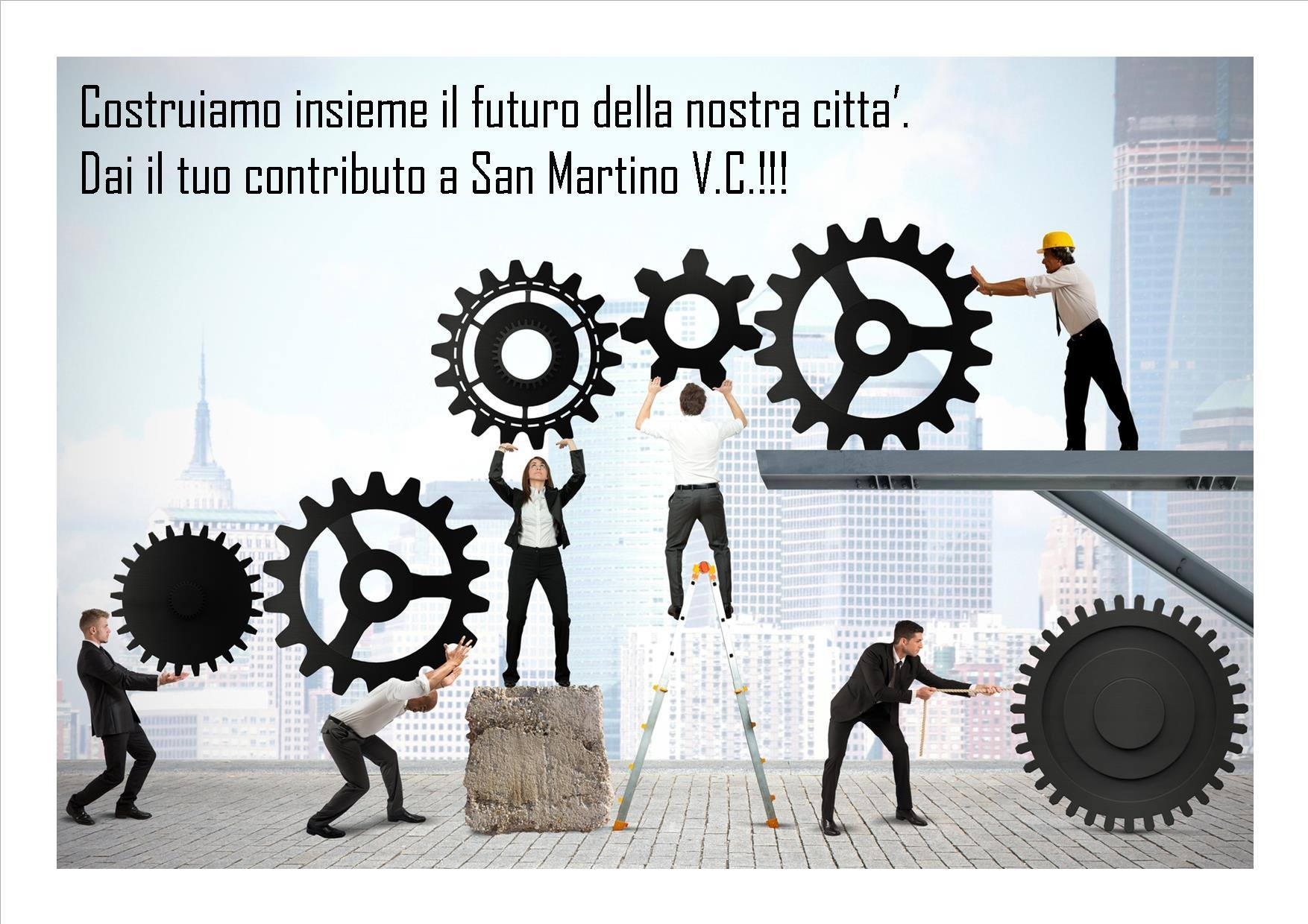 San Martino | Incontro preliminare con i tecnici locali per il territorio
