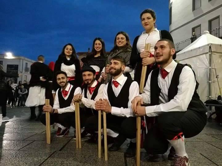Il gruppo folk di Cervinara ha rappresentato la Campania ad Arzana in Sardegna.