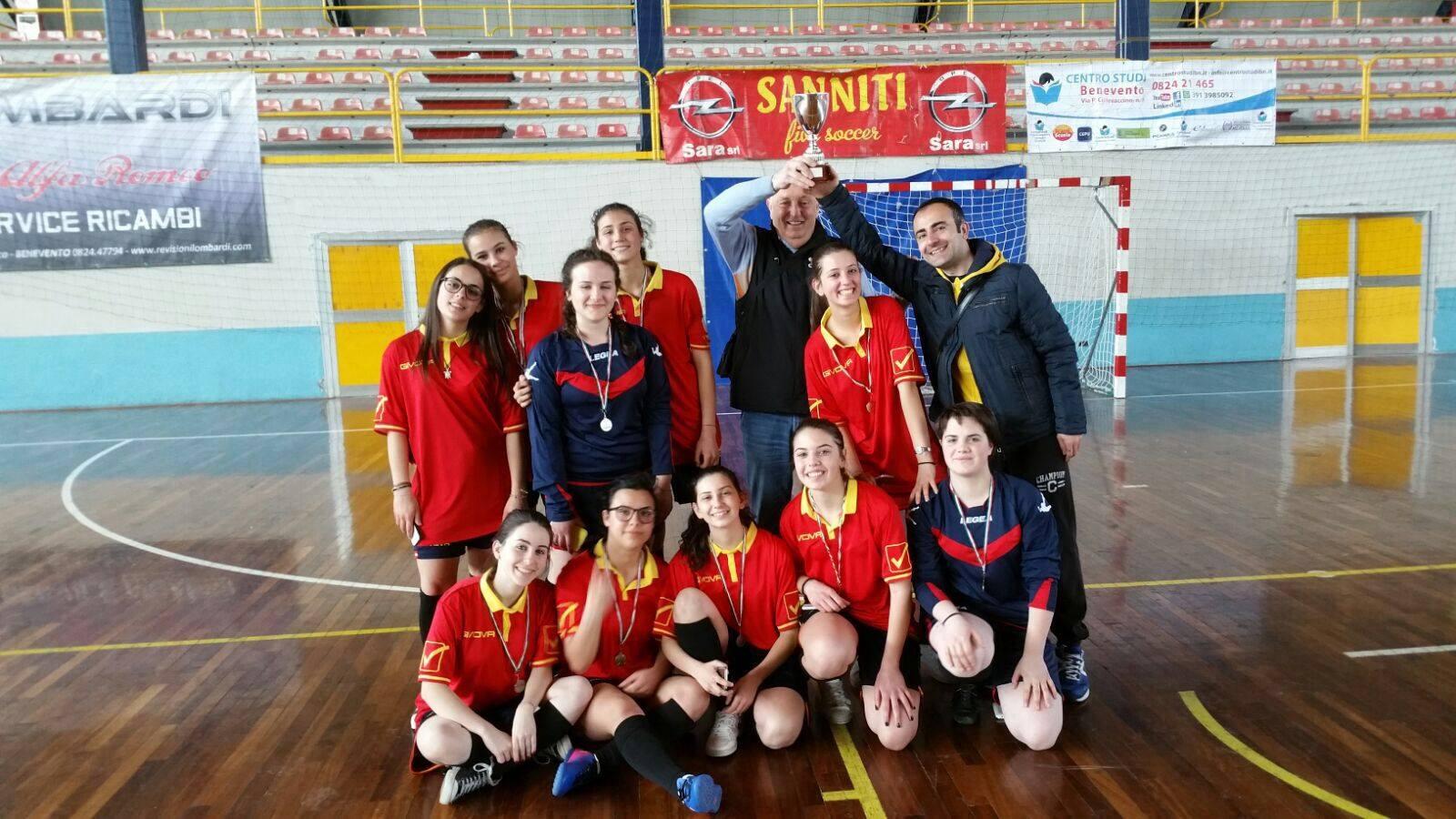 Campionati Sportivi Studenteschi: secondo posto per l'Istituto Fermi di Montesarchio.
