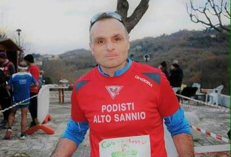 Il podista di Tocco Caudio: da 126 kg alla Maratona di Roma