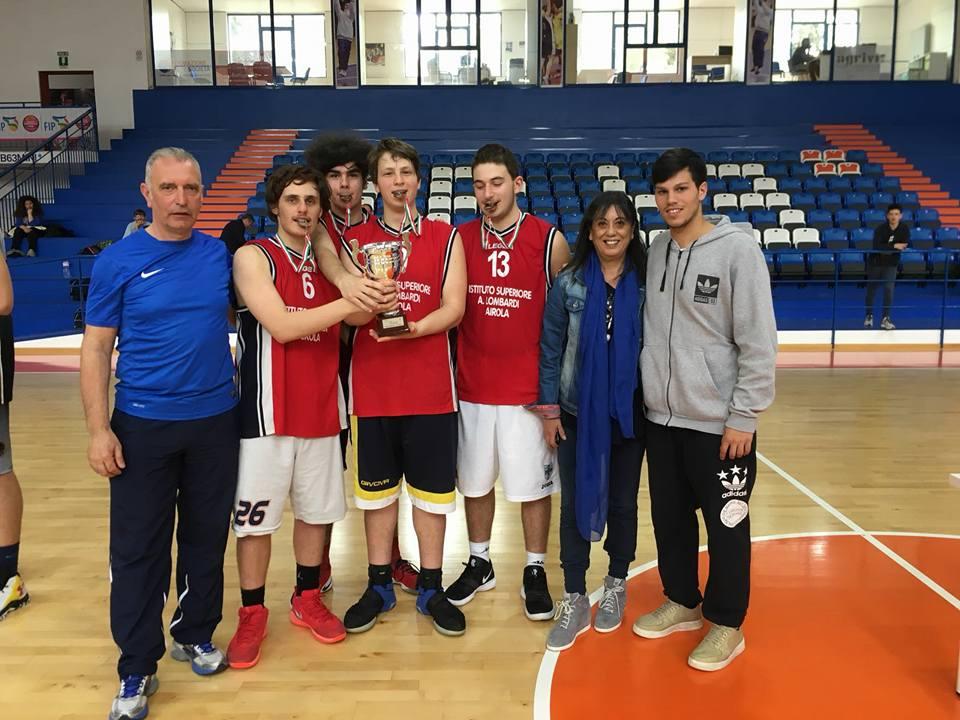 Airola   Il Lombardi terzo alle Regionali di Basket dopo Caserta e Napoli