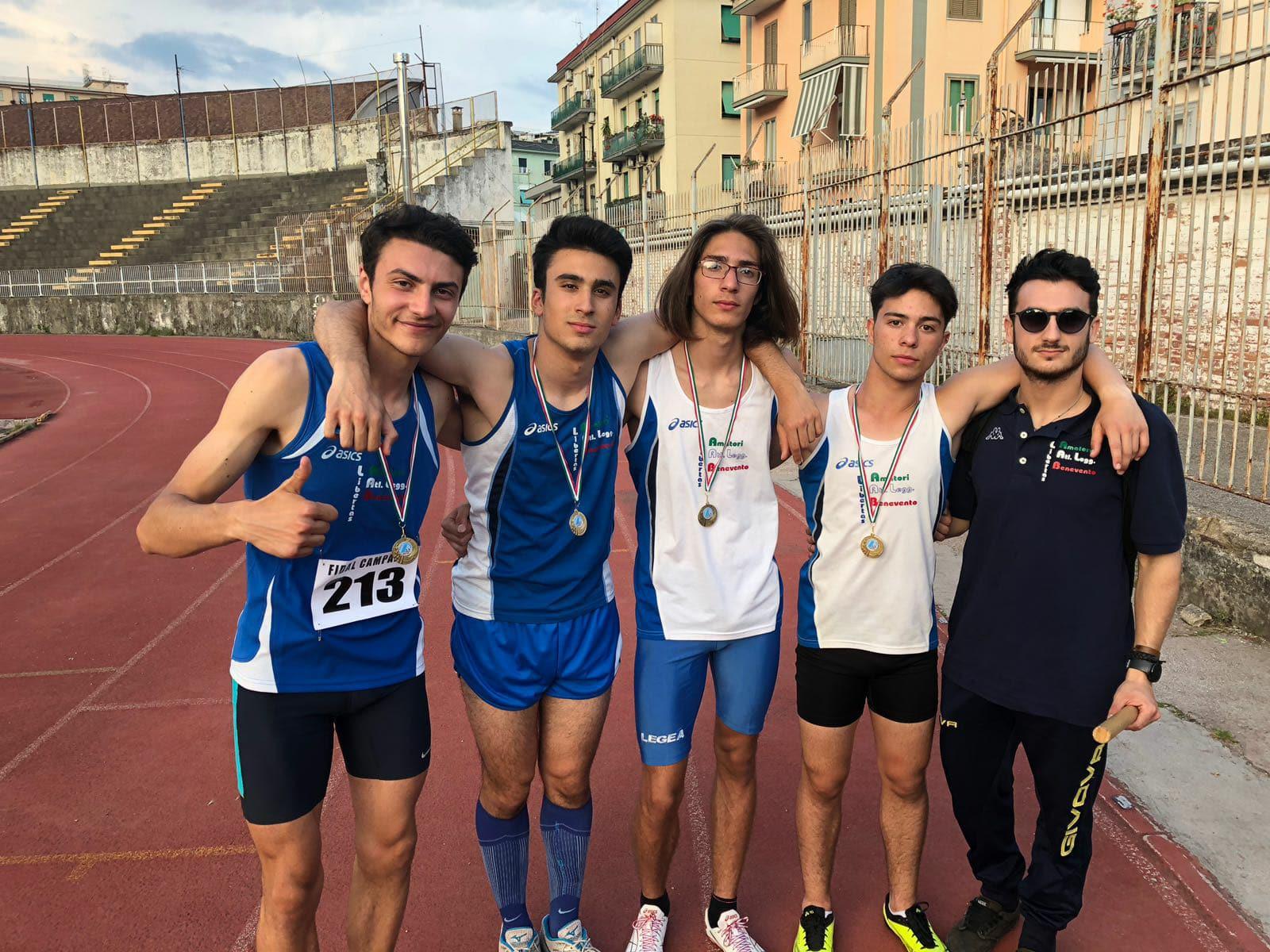 Atletica Leggera: Montesarchio, Sant'Agata e il Sannio sul Podio.