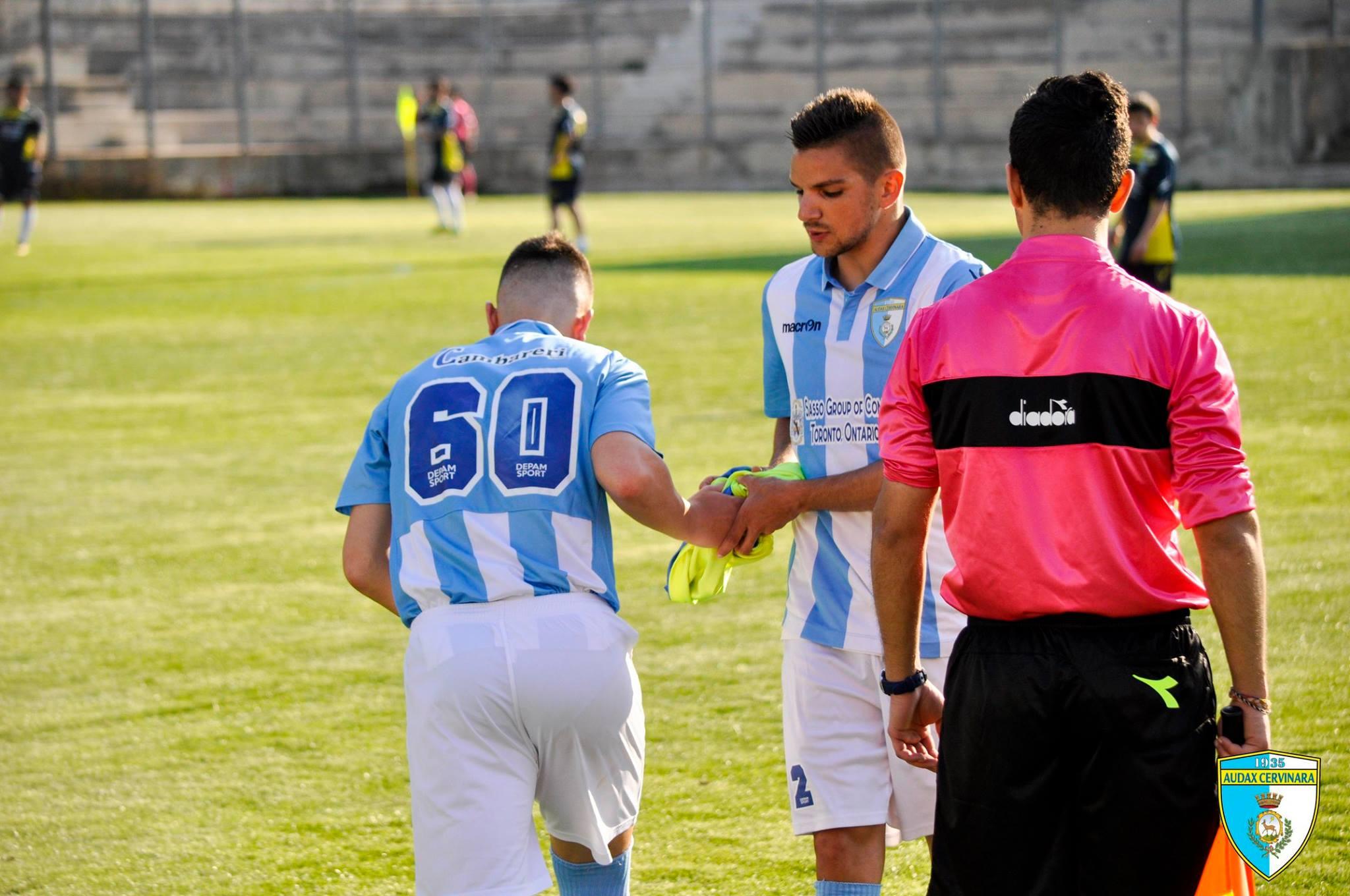 Audax Cervinara   Colarusso lascia la squadra: chiedo scusa ai tifosi.