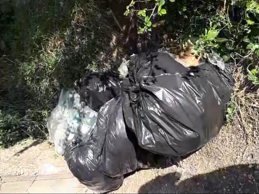 San Martino   Sversa rifiuti illegalmente, multato