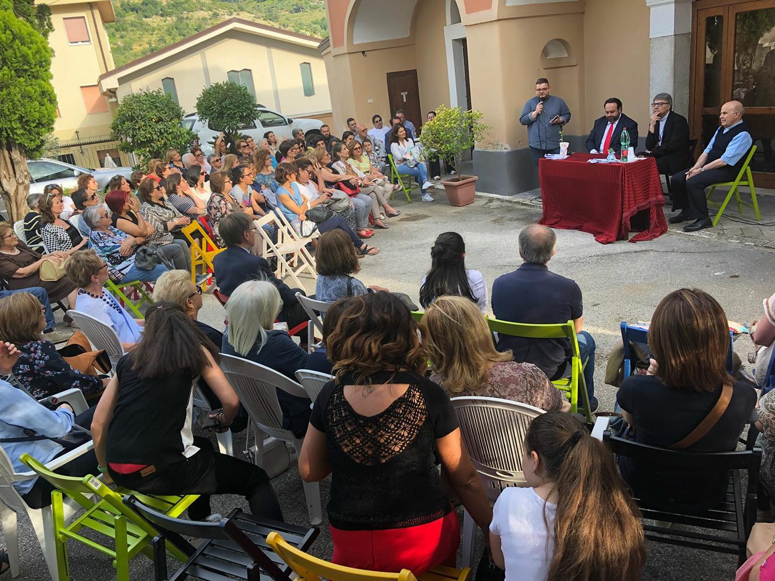 Casa delle donne, il taglio del nastro a Sant'Agata