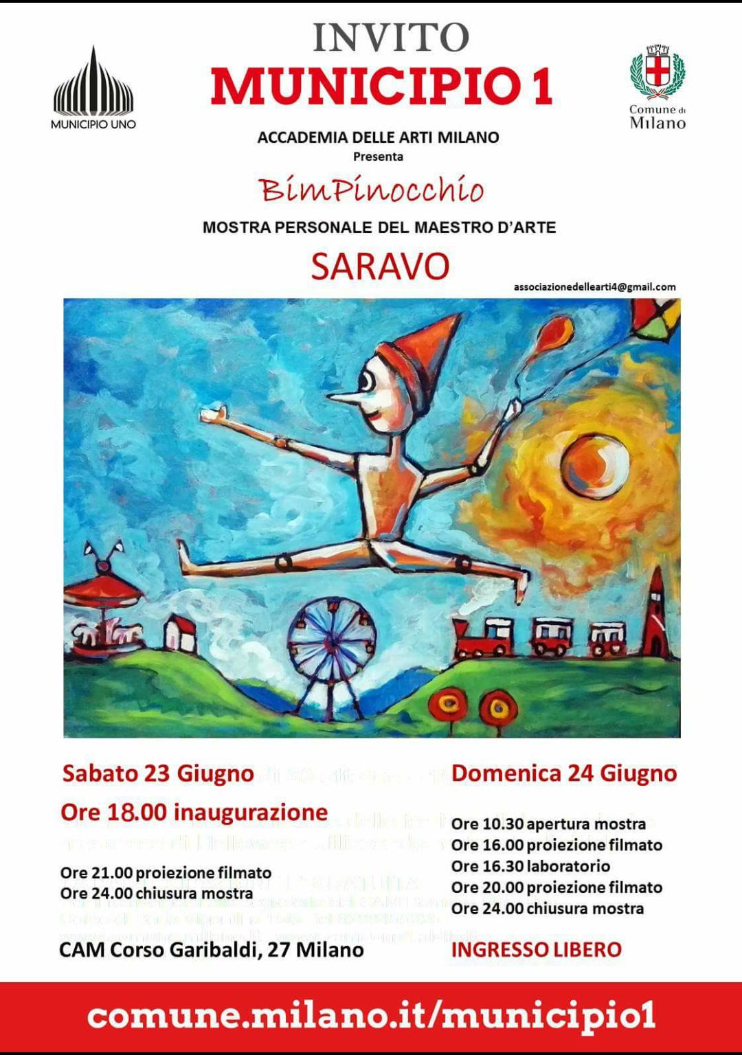 Il santagatese Saravo protagonista a Milano