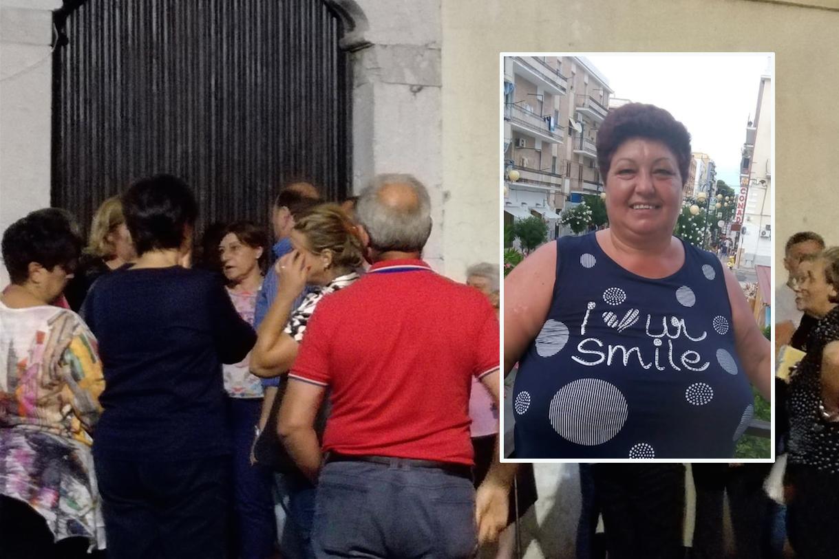 Montesarchio: l'ultimo saluto della comunità di Cirignano a Rosaria Paolo
