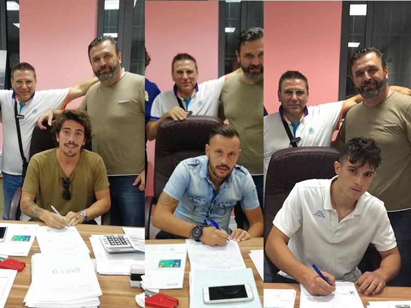 Audax Cervinara | La firma di Ricci, Varriale e Teti.