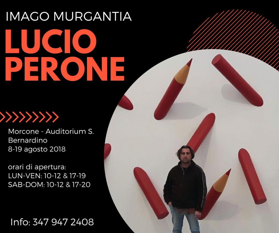 Sannio | Imago Murgantia: l'Artista caudino Lucio Perone in mostra a Morcone