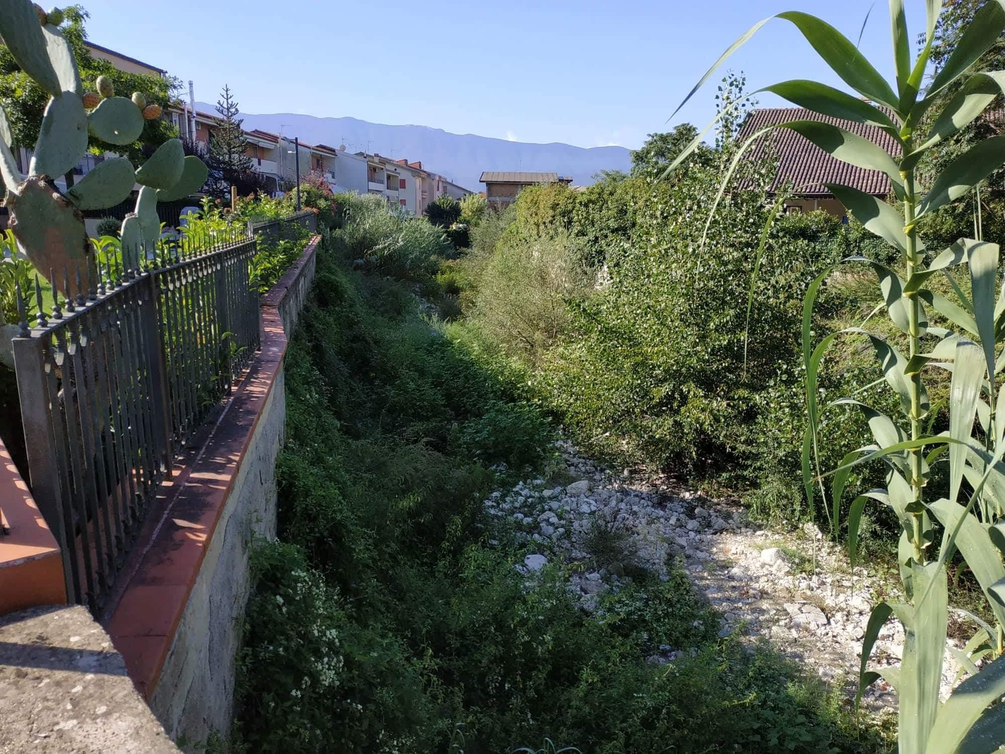 Montesarchio | M5S: ecco lo stato in cui versa il fiume Tesa.