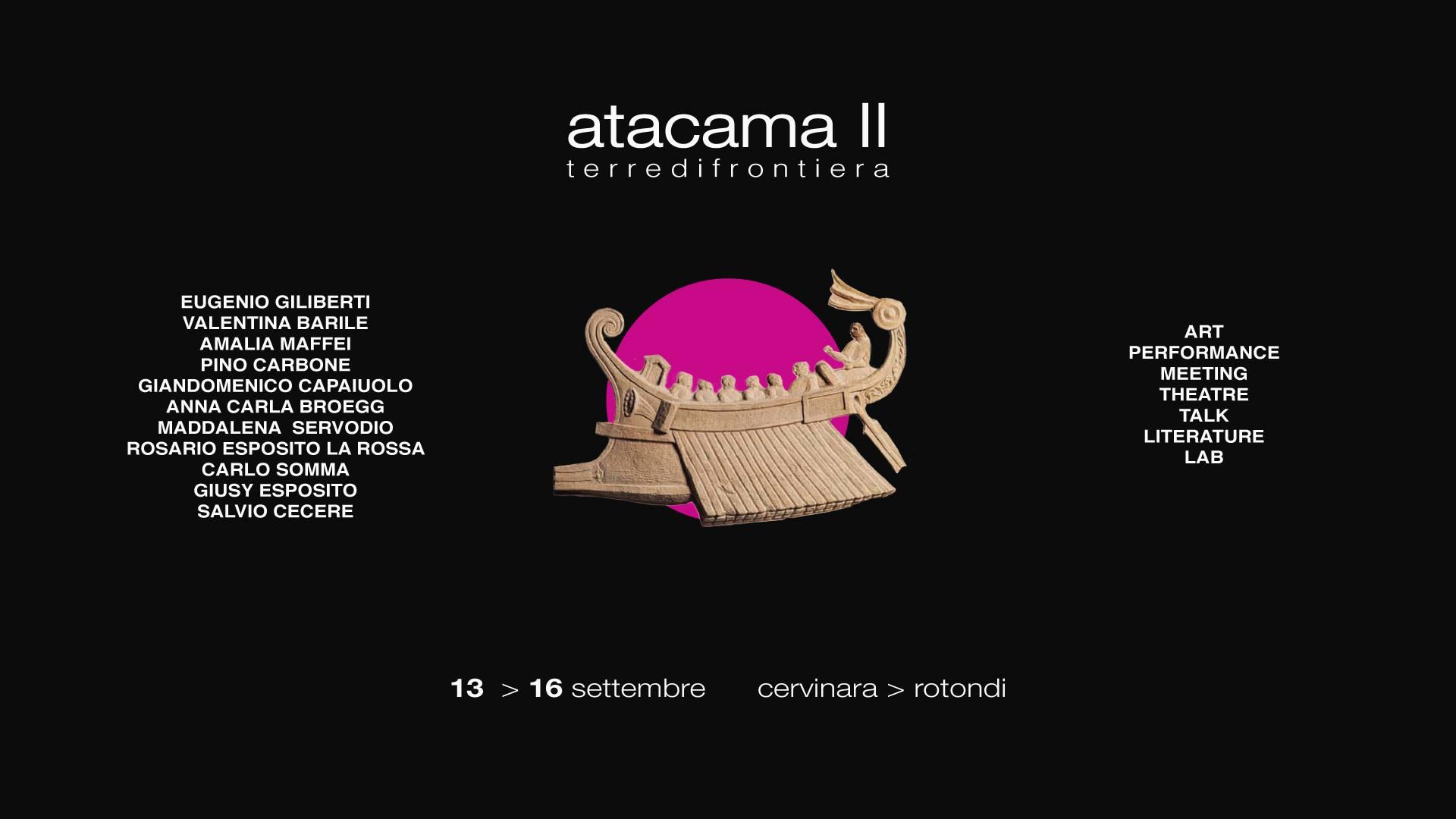 Cervinara-Rotondi | Atacama: 4 giorni di eventi. Ecco il programma