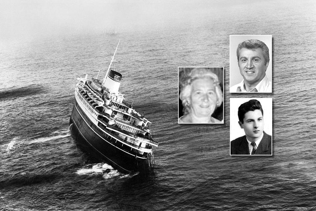 Tre cervinaresi nel naufragio dell'Andrea Doria   Prima parte