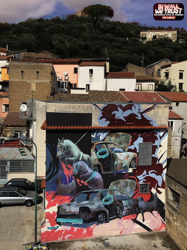 Street art, dal Messico per colorare Airola