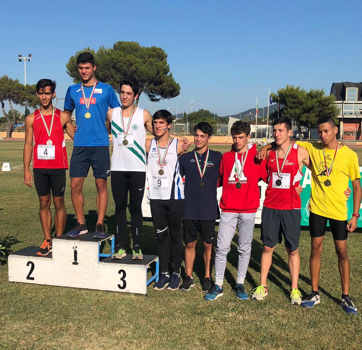 Campionati italiani CDS allievi: ottimi risultati per gli atleti di Montesarchio e Sant'Agata