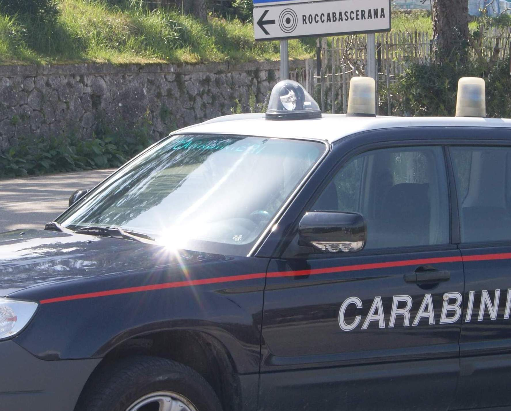 ROCCABASCERANA | VIOLA LE PRESCRIZIONI IMPOSTE: ARRESTATO DOMICILIARE TRADOTTO IN CARCERE.