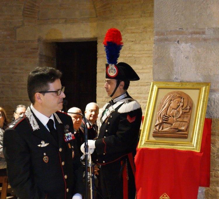 """Celebrazioni in onore della """"Virgo Fidelis"""", Patrona dell'Arma dei Carabinieri."""