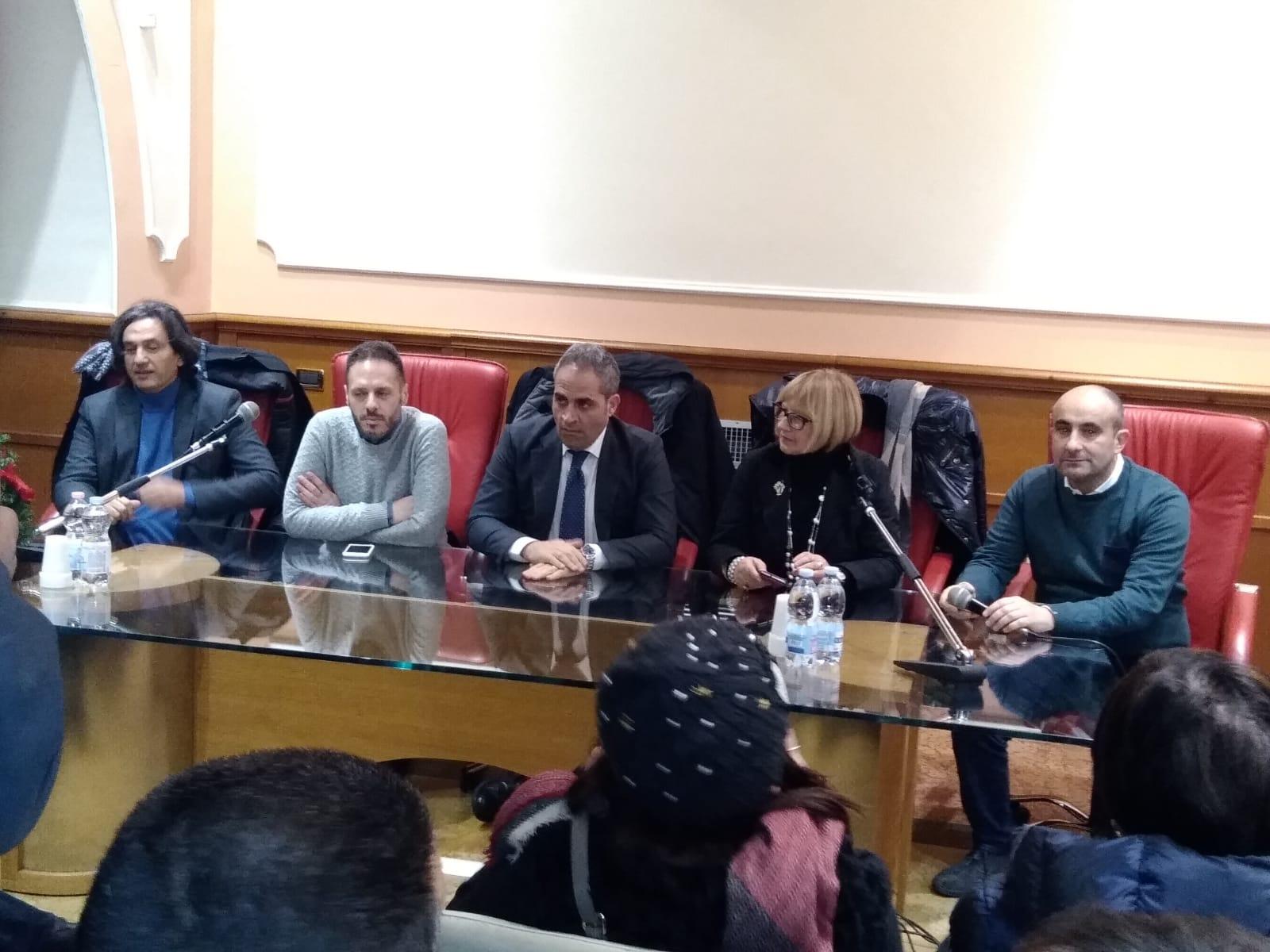 Ambito A4: la conferenza stampa per la nuova governance.