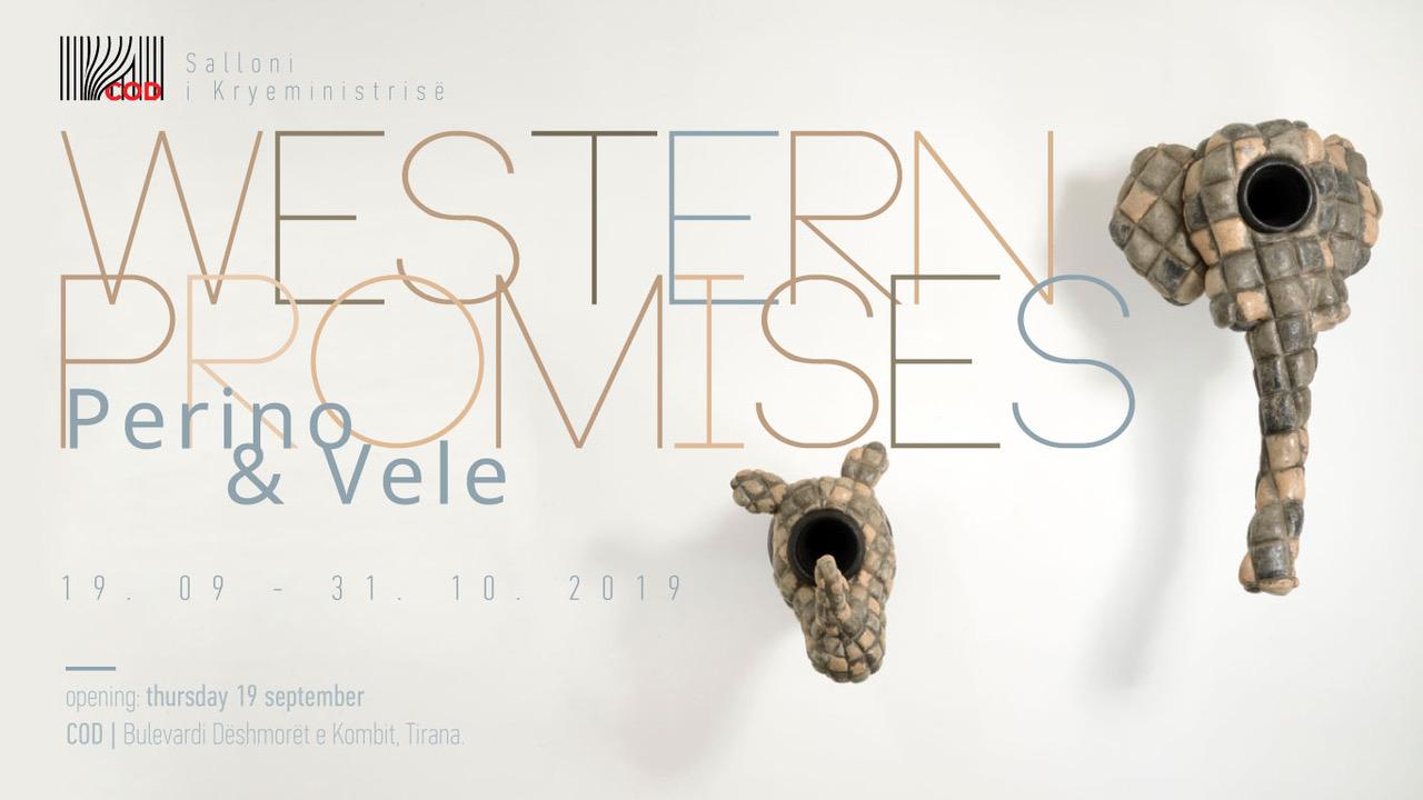 Arte. Perino & Vele: ritorno in Albania con Western Promises