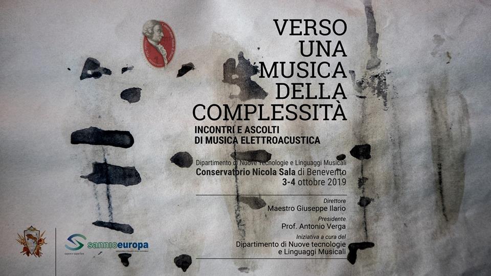 Conservatorio Sala: Verso una musica della complessità