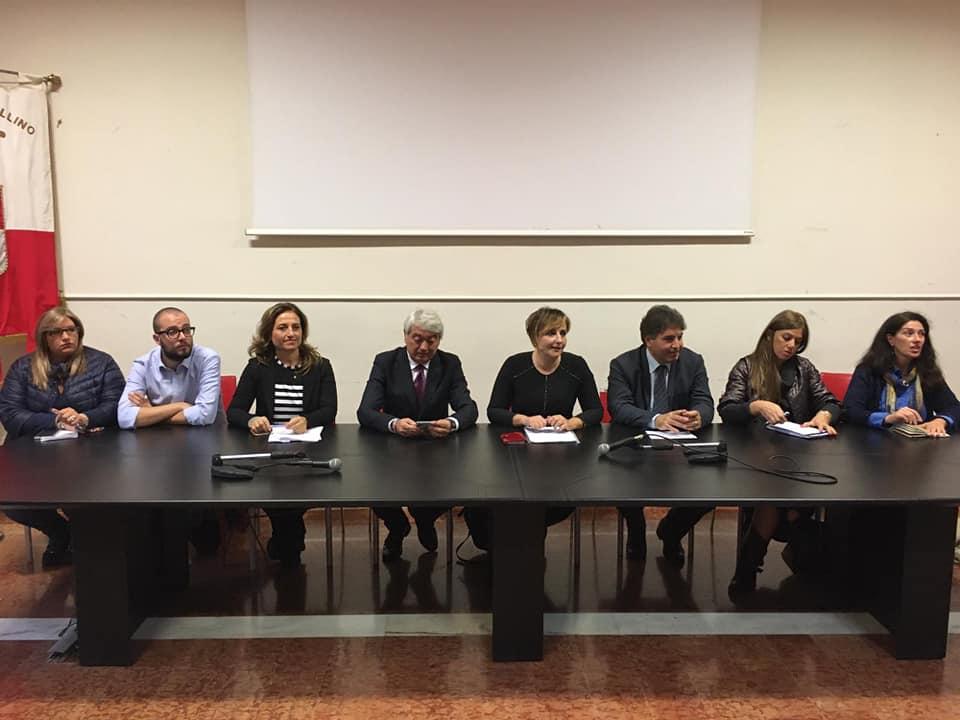 Provincia di Avellino. Presentazione tavolo tecnico sulle pari opportunità.