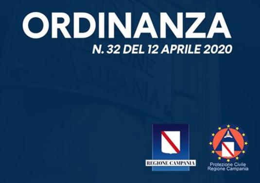 Regione Campania. COvid-19: nuova ordinanza
