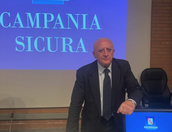 Campania Sicura. Interventi per il turismo e la cultura.