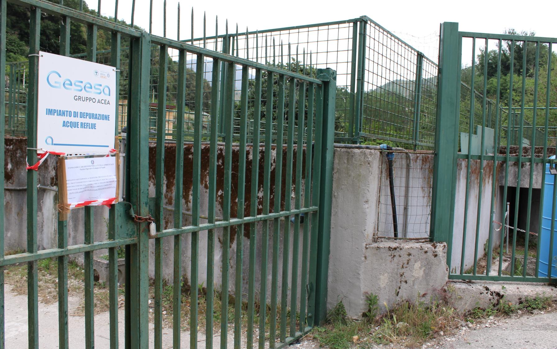 Sant'Agata. Depuratori. PCI: acqua come bene comune