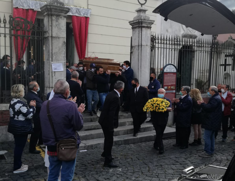 Montesarchio. L'ultimo saluto al Presidente Unitalsi Vincenzo Rame