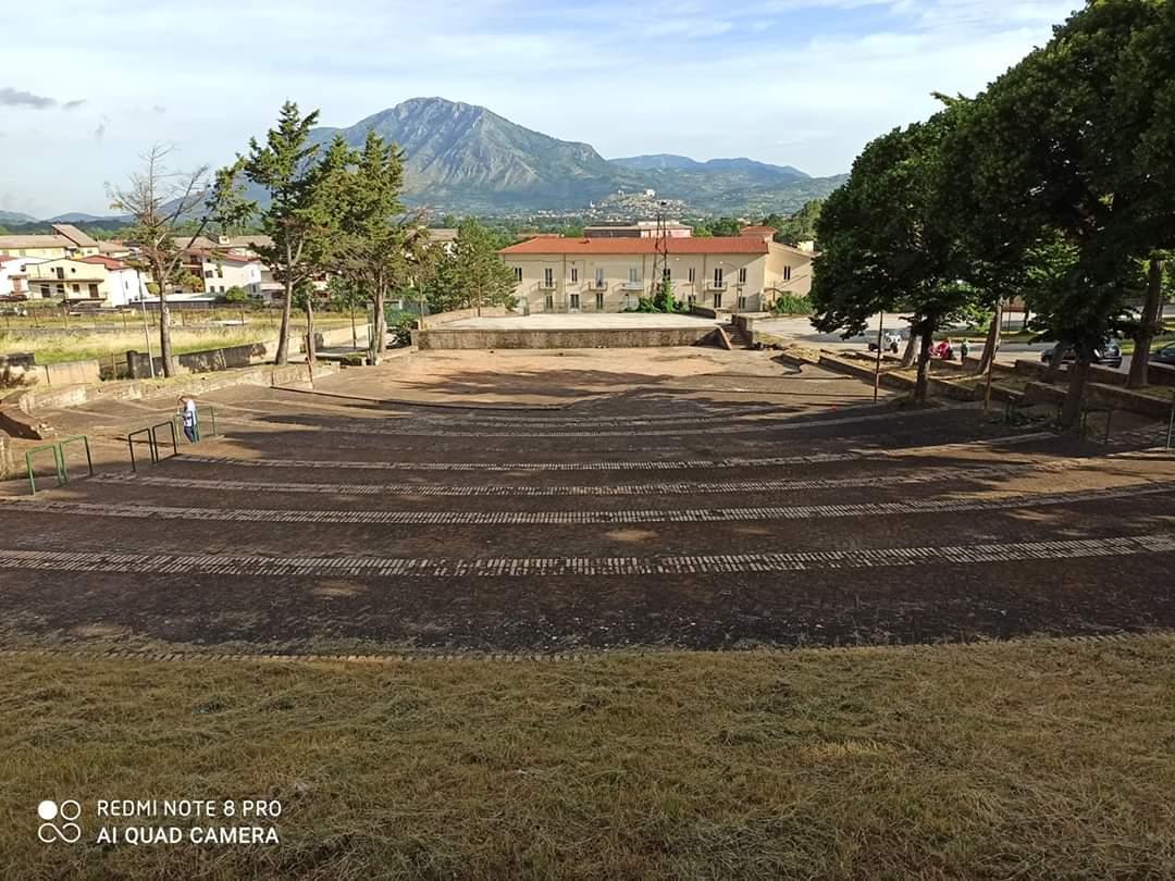 San Martino. Lo spazio scenico candidato per ospitare eventi regionali all'aperto