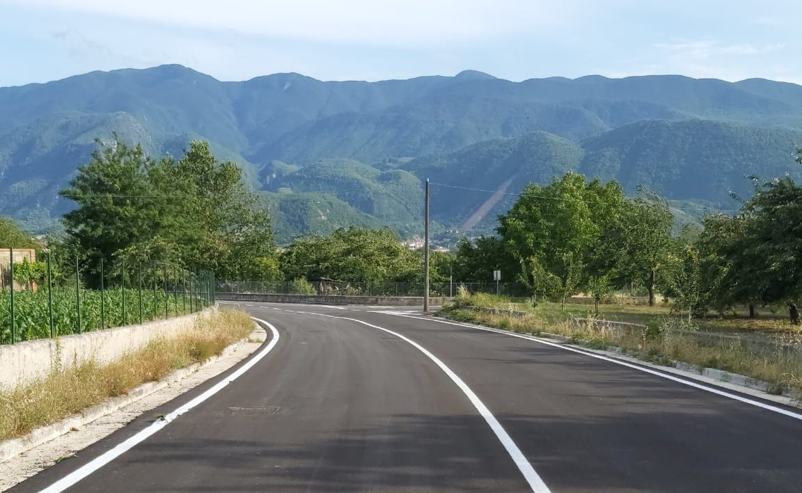 San Martino. Completata arteria area PIP