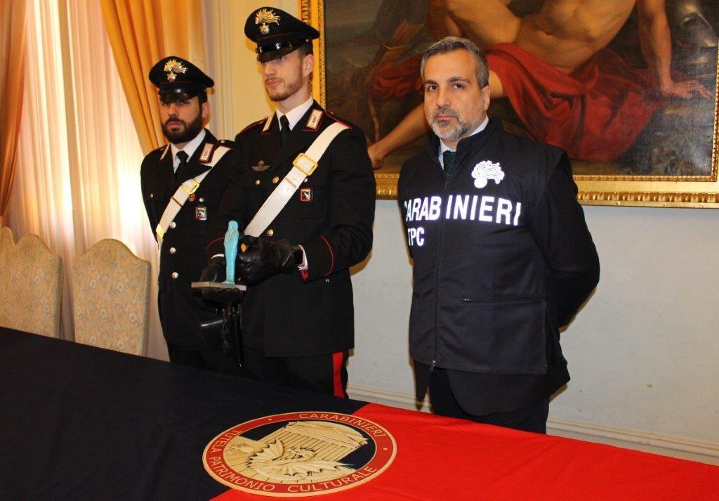 """Montesarchio, ritrovata """"L'immacolata"""" rubata nel 1997"""