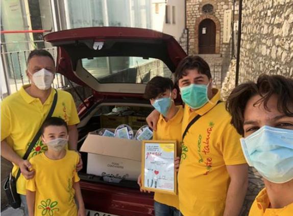 Pro Loco Monte Taburno: terminata la consegna delle ciliegie ai reparti covid della Campania