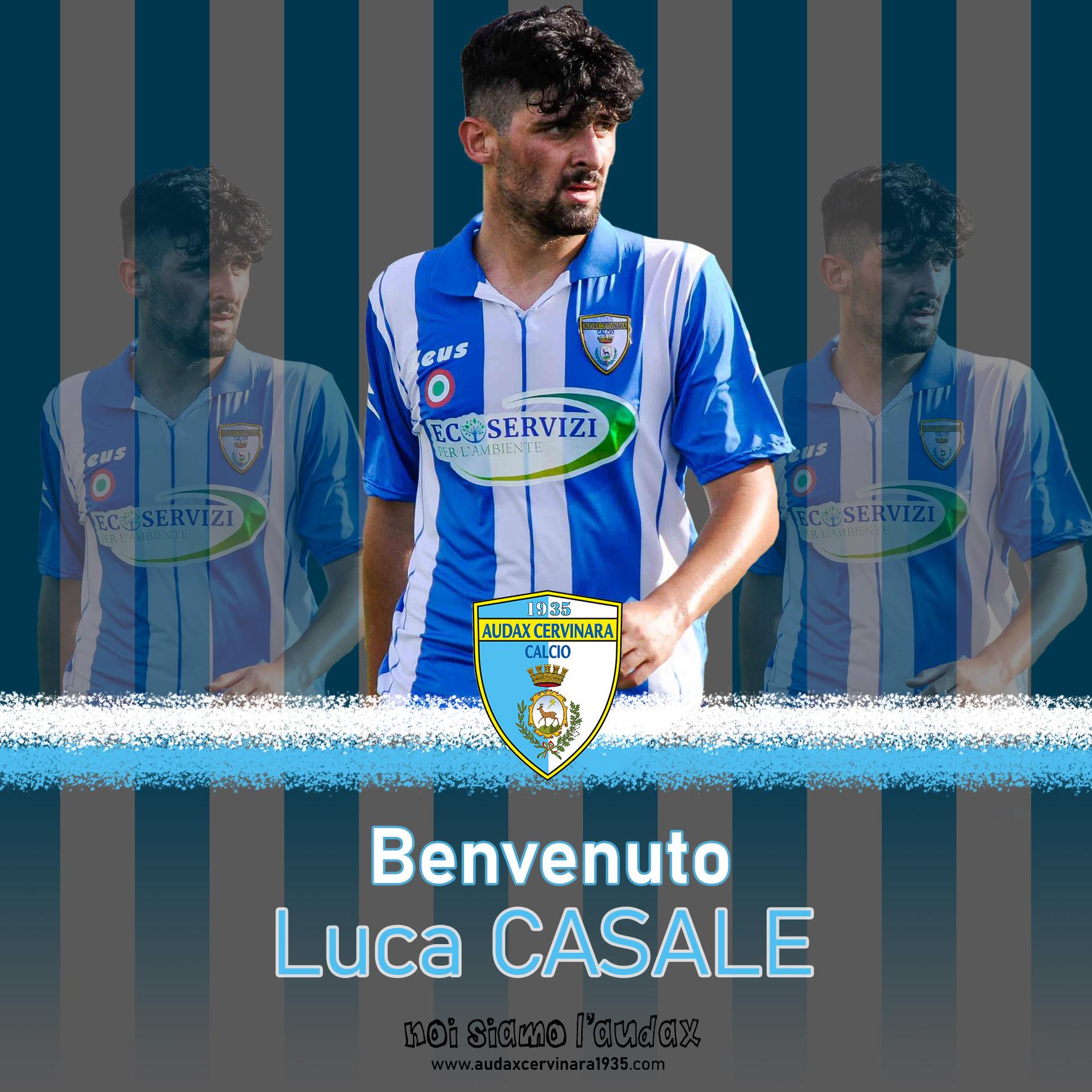 Audax Cervinara. Il ritorno di Luca Casale.