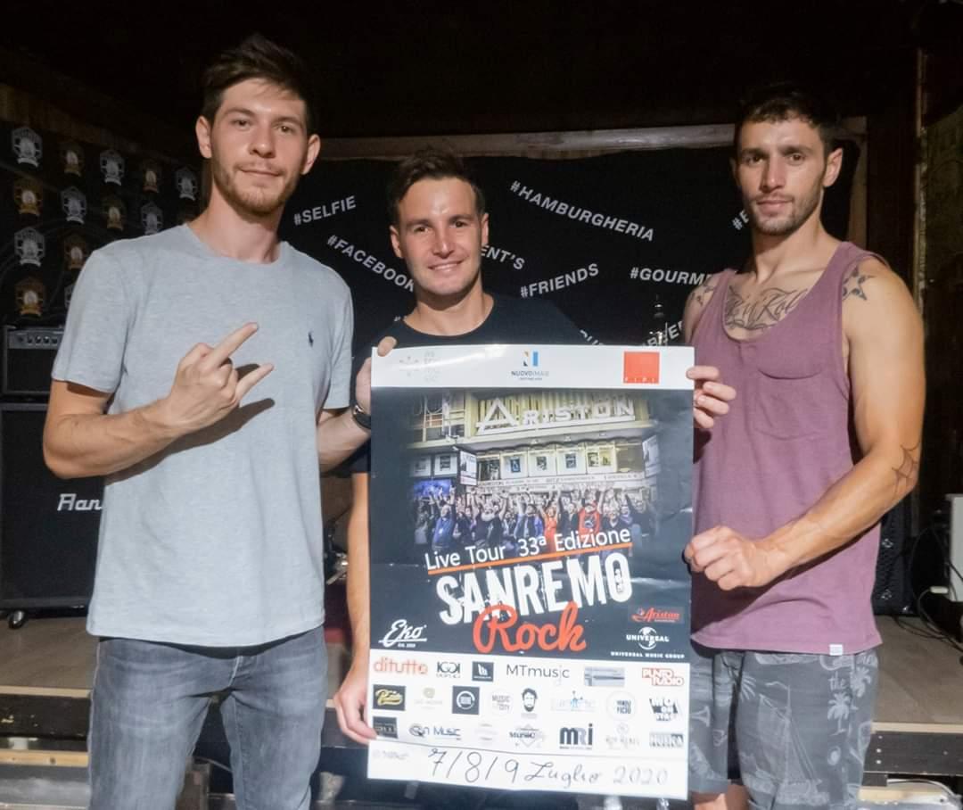Sanremo Rock. Gli Ice-Angels 32 vincono la selezione regionale.