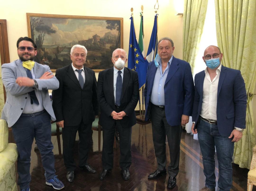 Incontro Anbima-De Luca, airolano guida delegazione