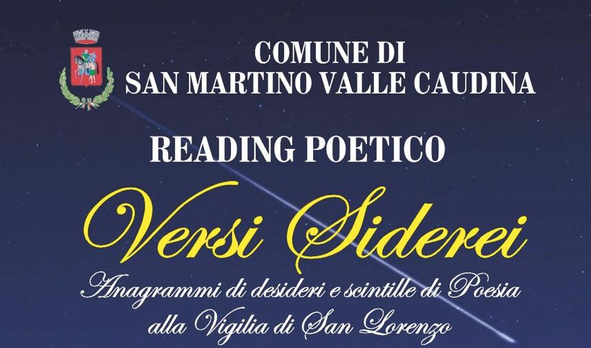 San Martino. Appuntamento con la poesia.