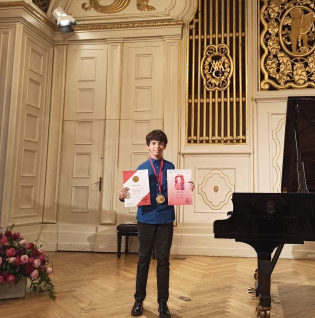 Airola, il giovane Ruggiero in concerto a Salisburgo