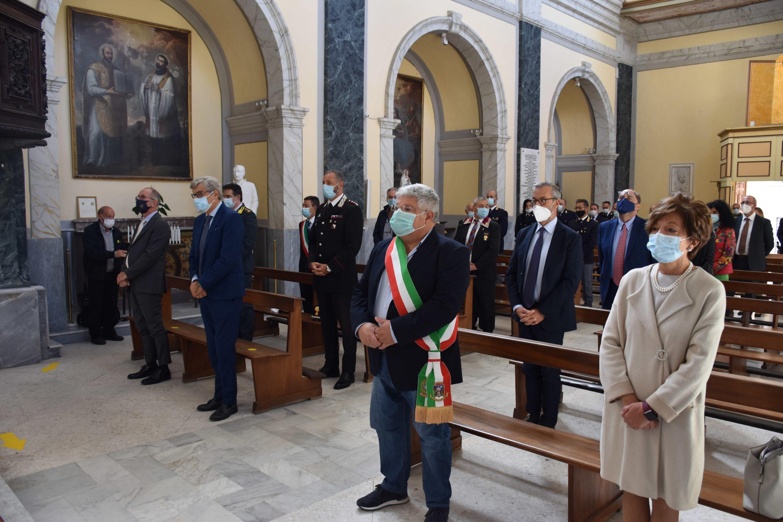 Montesarchio, celebrata ricorrenza Patrono Polizia di Stato