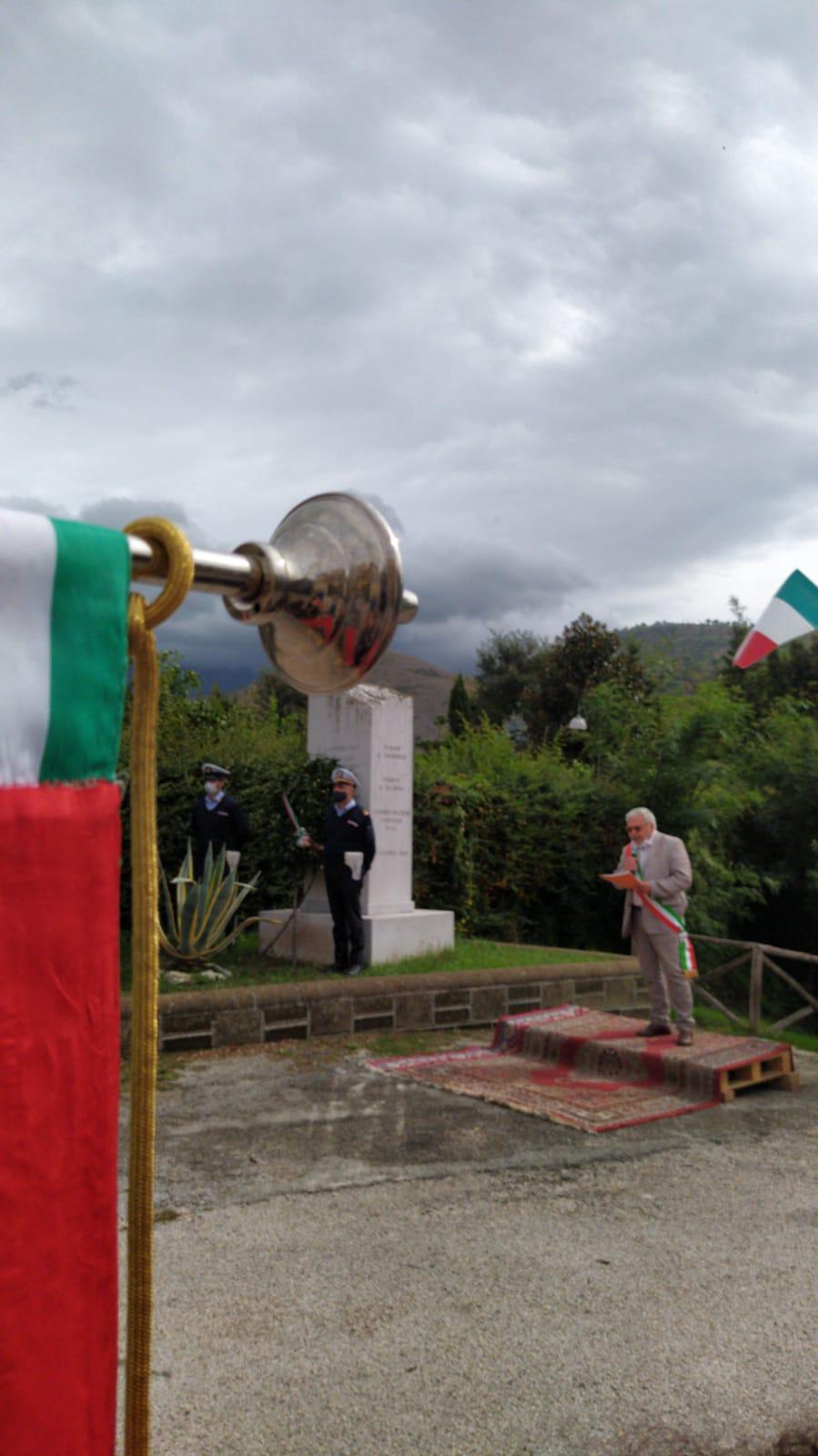 Sant'Agata, via Pontevecchio: ricordato il sacrificio di cinque giovani