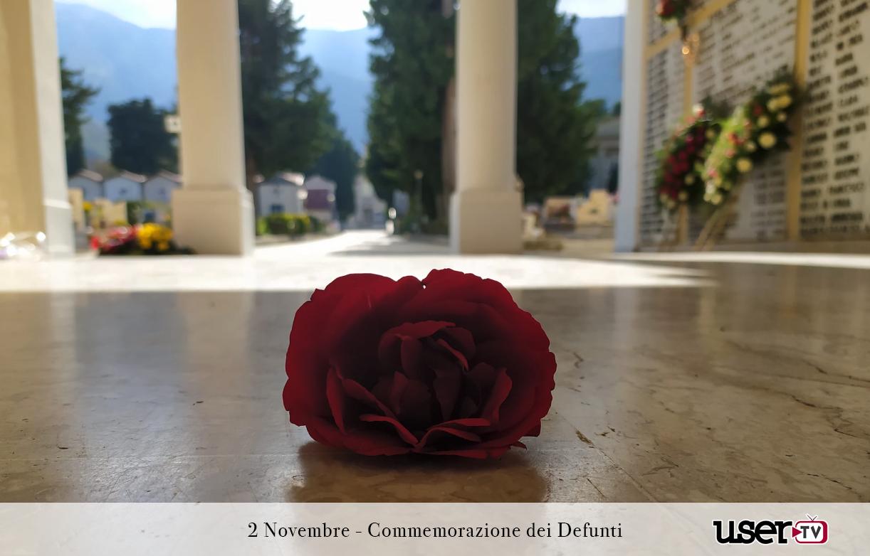 Cervinara. Quella rosa rossa all'ingresso del cimitero chiuso.