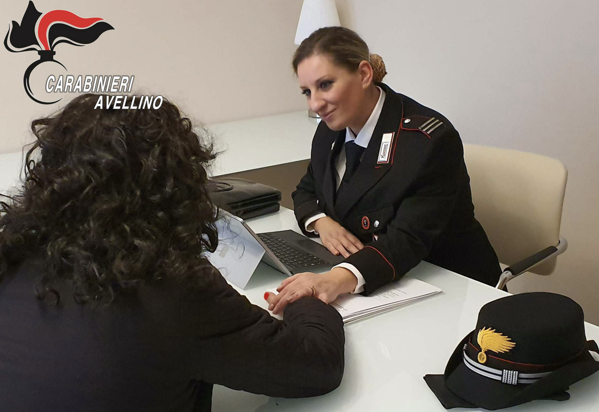 L'appello dei Carabinieri alle donne: trovate sempre il coraggio di denunciare
