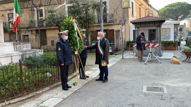 Sant'Agata de' Goti, le celebrazioni per il 4 Novembre