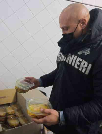 Sequestrati in provincia di Benevento 400 chili di alimenti