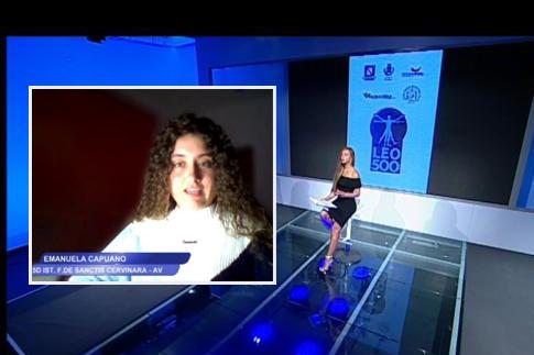 """Cervinara. Al De Sanctis un Premio al concorso """"Leo500-Terre di Campania"""""""